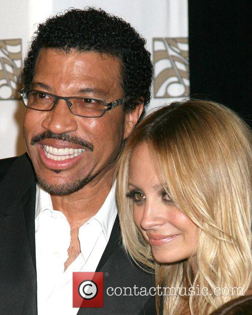 Lionel Richie and Nicole Richie ASCAP 25th Annual...