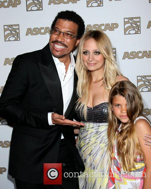 Lionel Richie and Nicole Richie 1