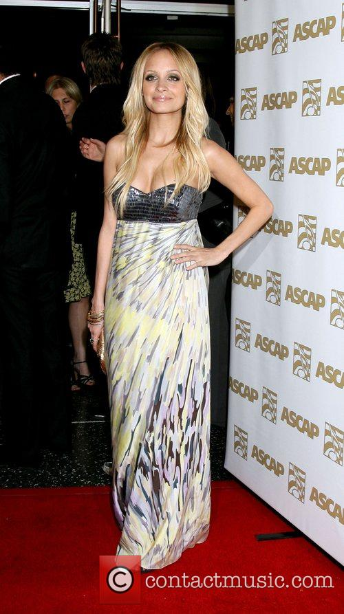 Nicole Richie ASCAP 25th Annual Pop Music Awards...