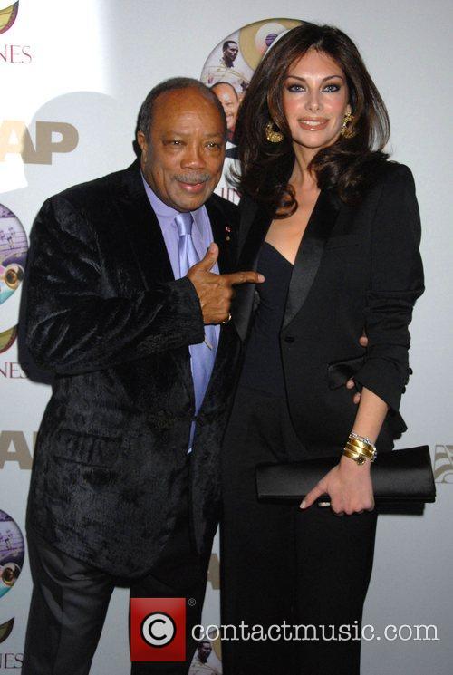 Quincy Jones and Alia Varsano ASCAP Pied Piper...
