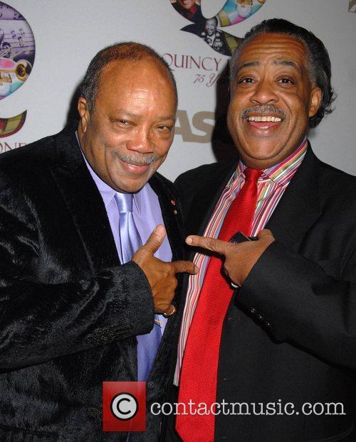 Quincy Jones and Al Sharpton ASCAP Pied Piper...