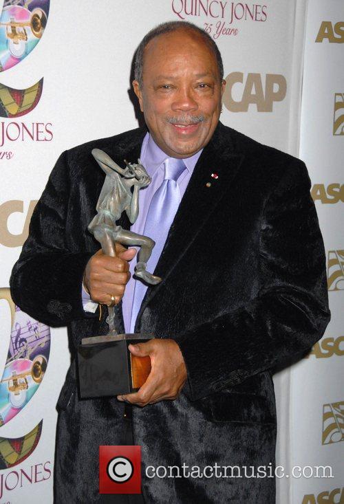 Quincy Jones ASCAP Pied Piper Award honoring Quincy...