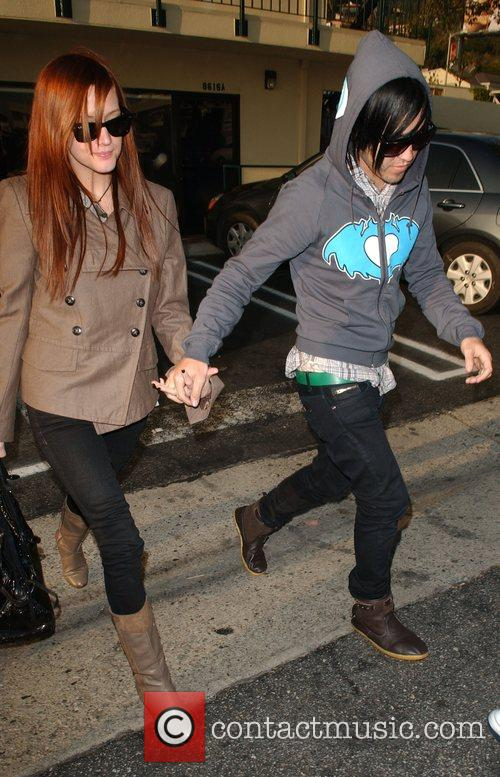 Ashlee Simpson and Pete Wentz 2