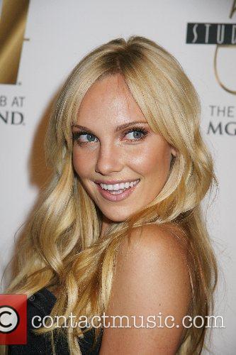 Ashley Hartman Hosts the Custo Barcelona Fashion Show...