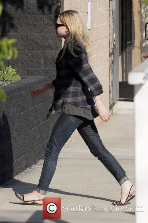 Ashley Olsen goes shopping at Costume National in...