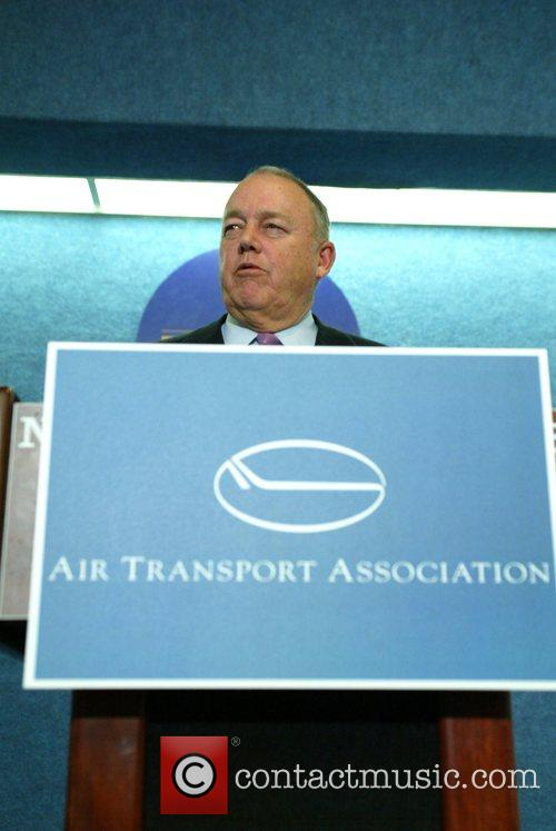 James May The Air Transport Association press conference...