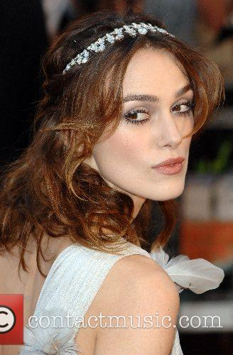 Keira Knightley UK Premiere of 'Atonement' at the...