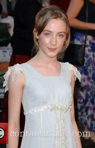 Saoirse Ronan UK Premiere of 'Atonement' at the...