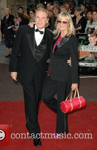 Twiggy and guest UK Premiere of 'Atonement' at...