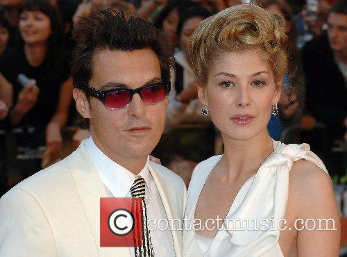Joe Wright and Rosamund Pike 1