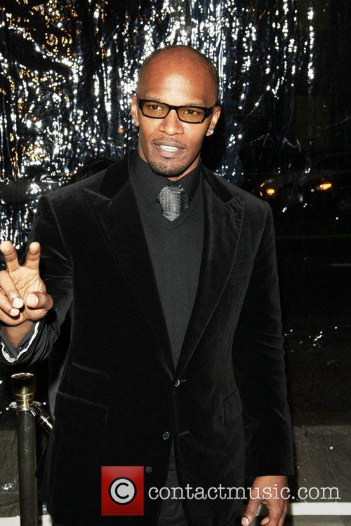 Jamie Foxx Premiere of 'Atonement' held at the...