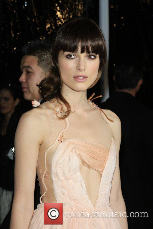 Keira Knightley Premiere of 'Atonement' held at the...