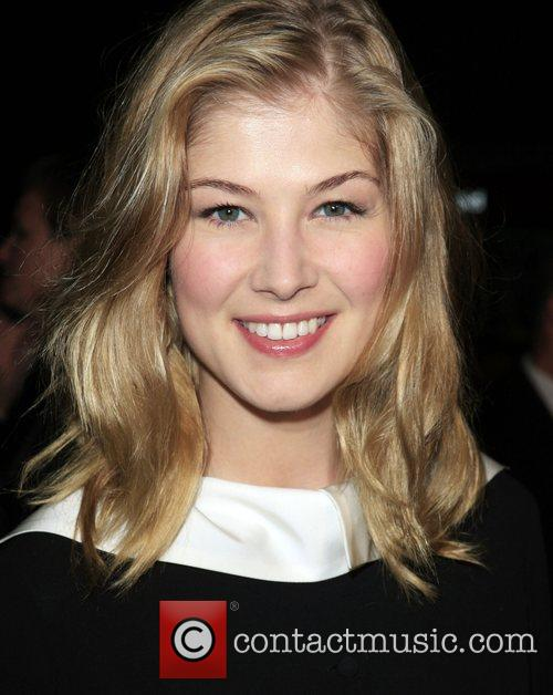 Rosamund Pike Premiere of 'Atonement' held at the...