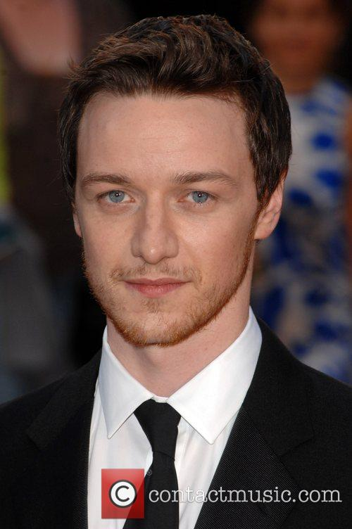 James McAvoy UK Premiere of 'Atonement' held at...