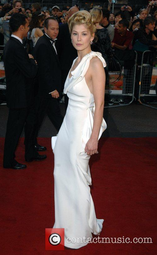 Rosamund Pike UK Premiere of 'Atonement' held at...