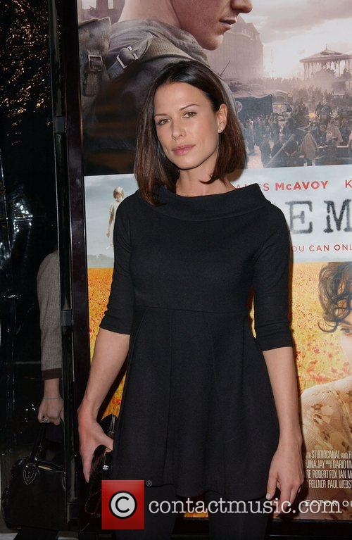 Rona Mitra Premiere of 'Atonement' held at the...