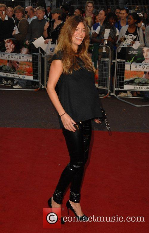 Sara McDonald UK Premiere of 'Atonement' held at...
