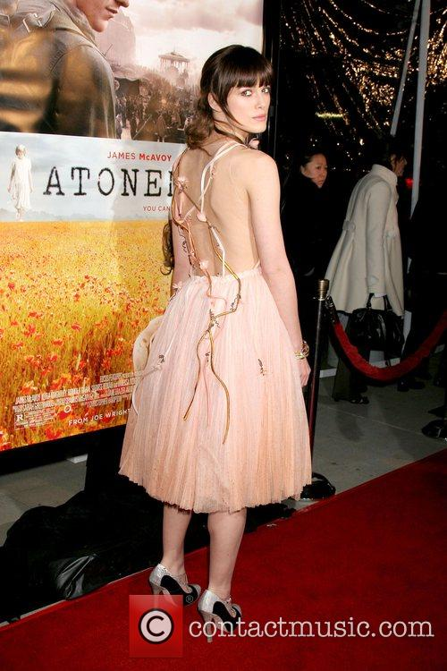 Keira Knightley Los Angeles Premiere of 'Atonement' at...