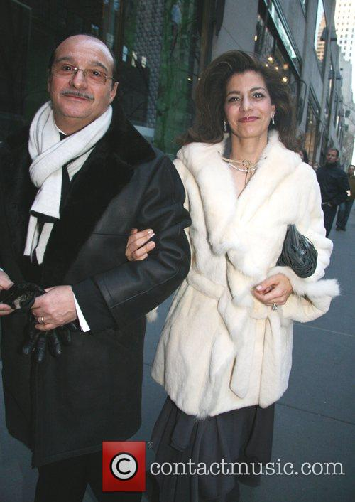 Guests Marriage of former wife of French President...