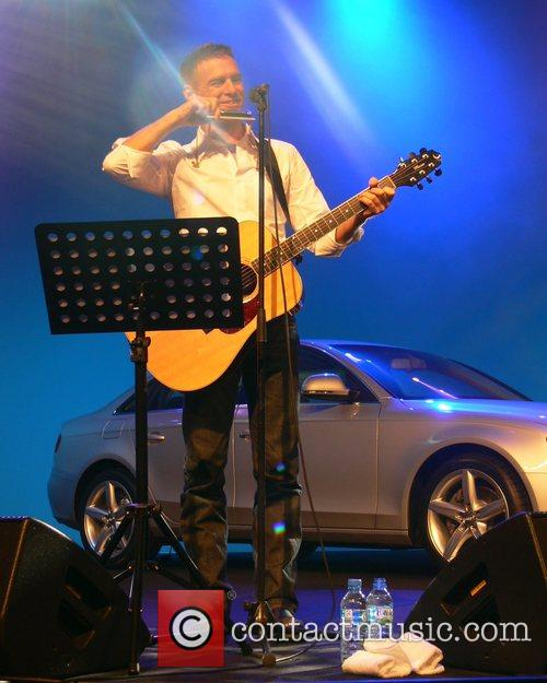 Bryan Adams performing live Audi A4 Private Night...