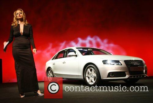 Barbara Schoeneberger,  Audi presents the new A4...