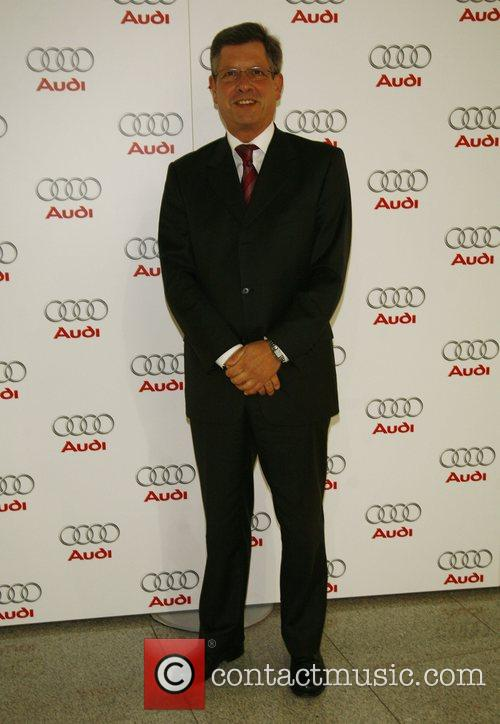 Guest,  Audi presents the new A4 limousine...
