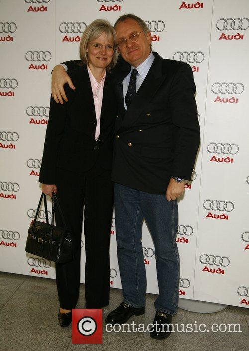 Michael Cremer , wife,  Audi presents the...