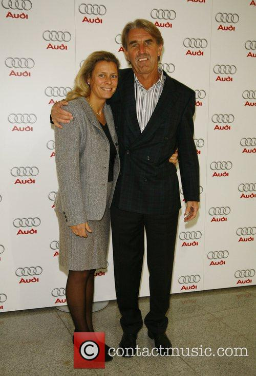 Peter Schuetten , wife Claudia,  Audi presents...