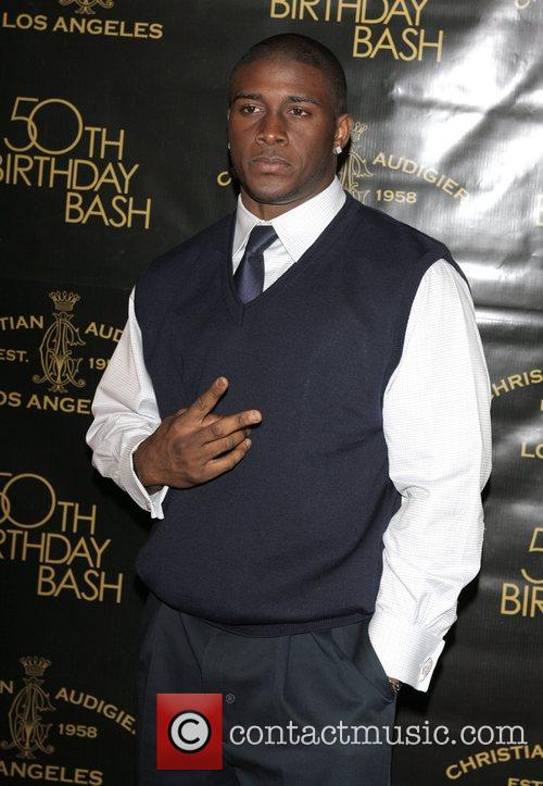 Reggie Bush Christian Audigier 50th birthday party at...