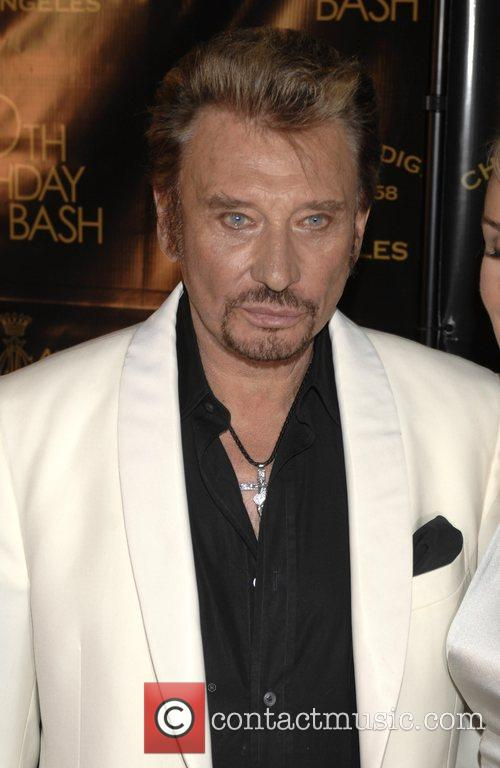Johnny Hallyday Christian Audigier 50th birthday party at...