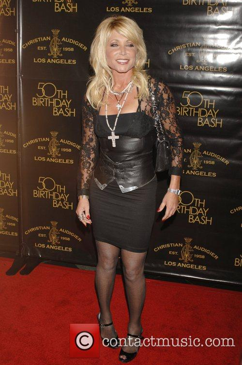 Pamela Bach Christian Audigier 50th birthday party at...