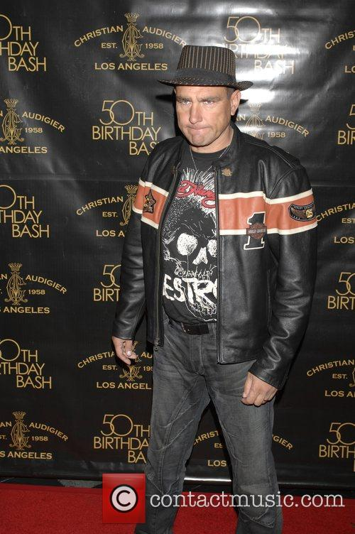 Vinnie Jones Christian Audigier 50th birthday party at...