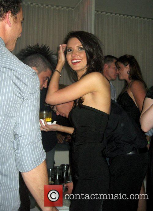 Audrina Patridge at the Pure Nightclub inside Caesars...
