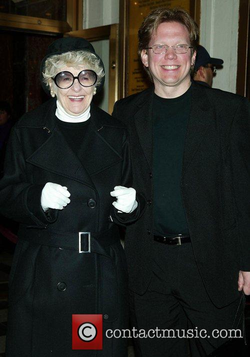 Elaine Stritch Opening night performance of 'August: Osage...