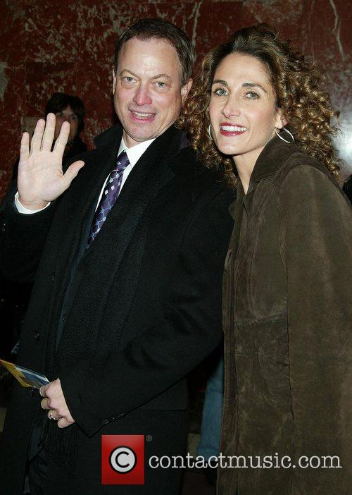 Gary Sinise & Melina Kanakaredes Opening night performance...