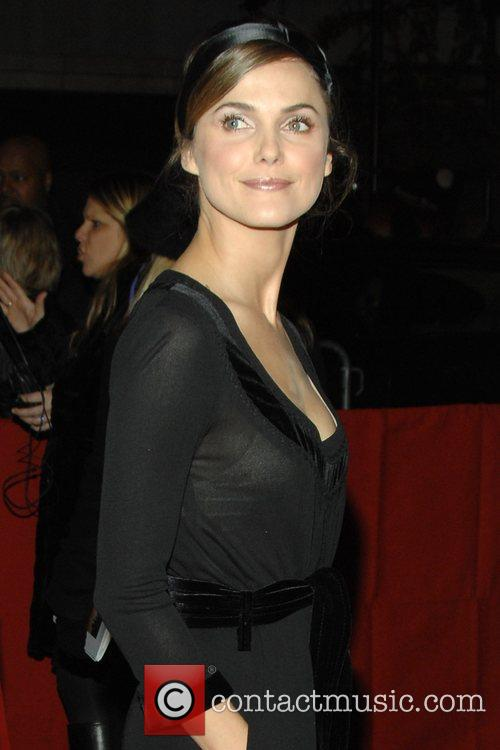 Keri Russell at the movie premiere of 'August...