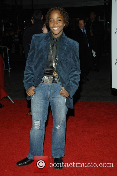 Leon Thomas at the movie premiere of 'August...