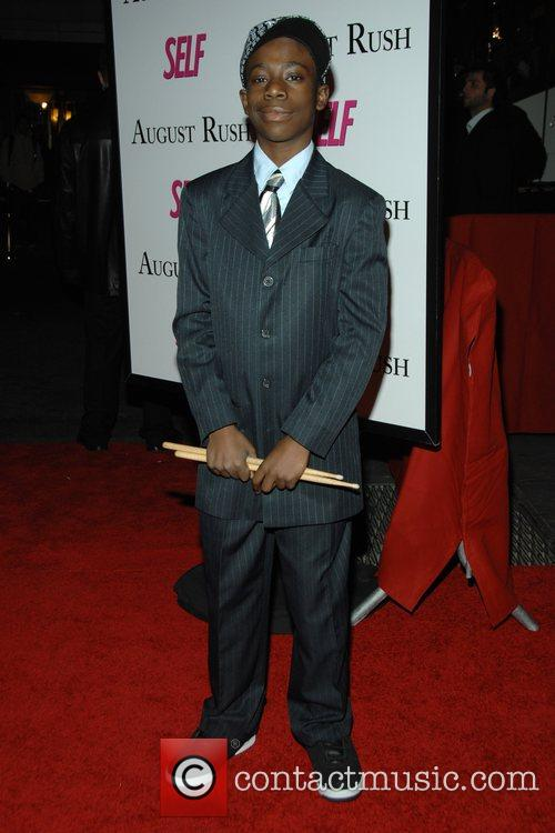 Michael Hammond at the movie premiere of 'August...