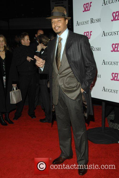 Terrance Howard at the movie premiere of 'August...