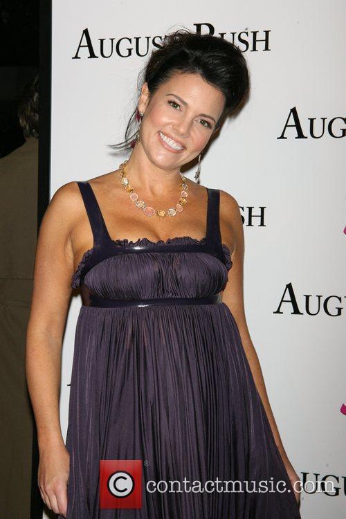 Anastasia B The movie premiere of 'August Rush'...