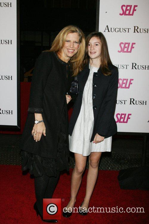 Lucy Danziger, Josie Danziger The movie premiere of...