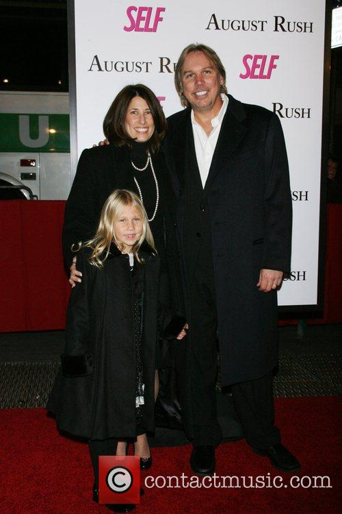 Mark Macina and family The movie premiere of...