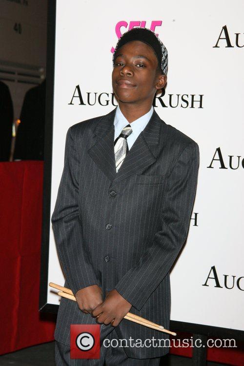 Michael Hamonds The movie premiere of 'August Rush'...