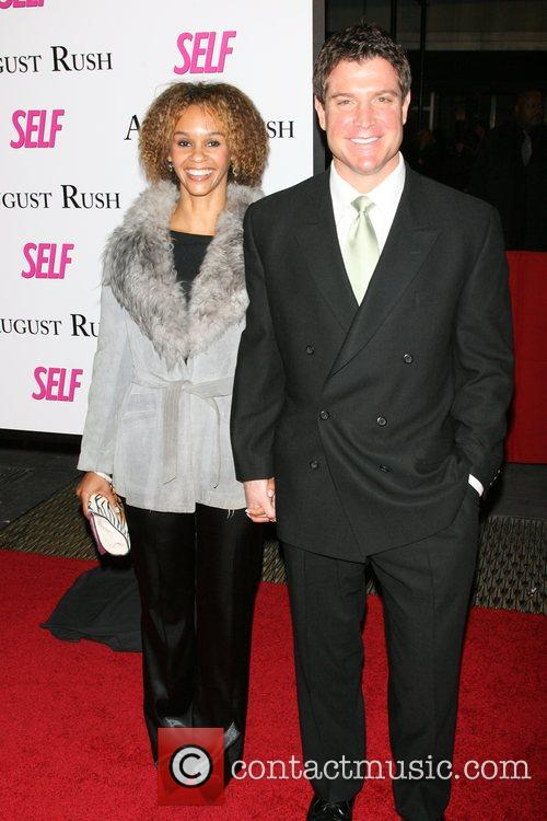 Shannon Marshall, Paul Castro The movie premiere of...