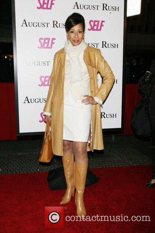 Tamara Tunie The movie premiere of 'August Rush'...