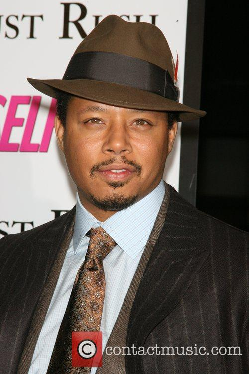 Terrence Howard The movie premiere of 'August Rush'...