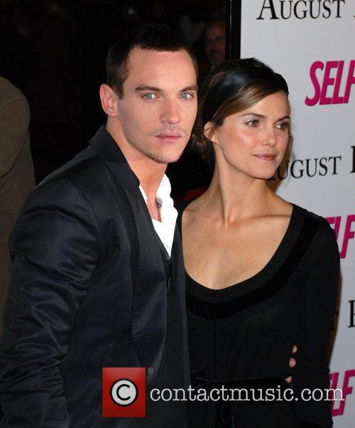 Jonathan Rhys Meyers and Keri Russell Premiere of...