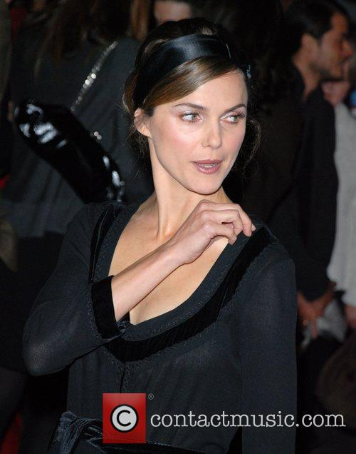 Keri Russell Premiere of 'August Rush' held at...
