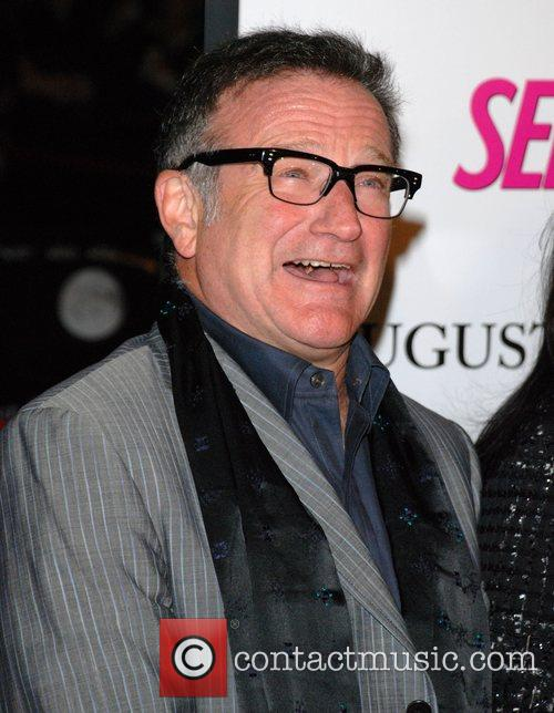 Robin Williams Premiere of 'August Rush' held at...