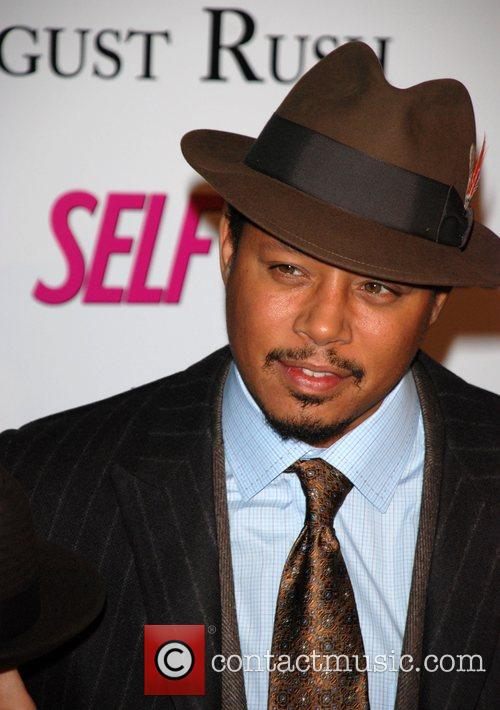 Terrence Howard Premiere of 'August Rush' held at...